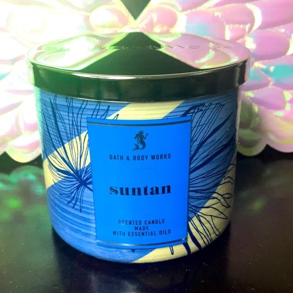 BBW 3 wick candle Suntan